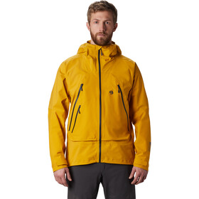 Mountain Hardwear High Exposure Gore-Tex C-Knit Jacket Herre Gold Hour